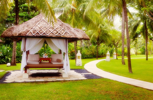 Bali Canopies for massage