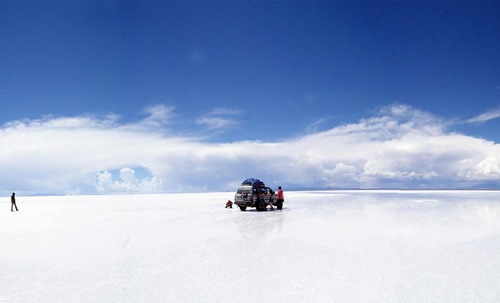 The largest salt desert